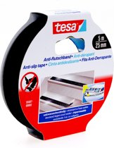 Tesa - 55587 - anti-slip tape - 25mm x 5m - zwart