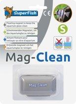 SuperFish Mag Clean - Aquarium - Glasreiniger - Drijvend - Small