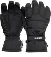 Sinner Vertana - Handschoenen - Zwart - Medium - Heren