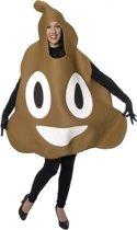 Drol emoticon kostuum voor volwassenen One size (s-xl)