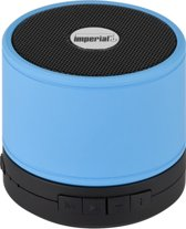 Imperial bluetooth speaker Bas 1 blauw - microfoon