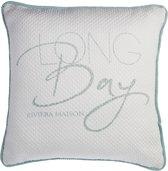 RM Long Bay Lounge cushion S. teal 50x50