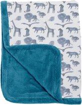 Snoozebaby Winterdeken wieg T.O.G. 2.0 - 100x75 cm - Storm Blue