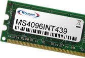 Memory Solution MS4096INT439 4GB geheugenmodule