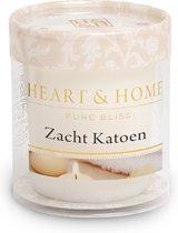 Heart & Home Votive kaars (4 stuks) - Zacht Katoen