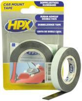 HPX Dubbelzijdig foamtape zwart