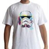 STAR WARS - Tshirt Graphic Trooper ? man SS white - basic