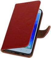 Samsung Galaxy J3 2018 Rood | Premium bookstyle / book case/ wallet case  | WN™