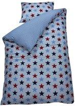 BINK Bedding - Dekbedovertrek 120x150 cm Ster - Meerkleurig