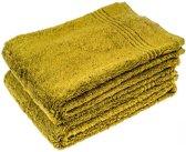 3 Stuks Groene Bamboe Handdoek 50x100 cm