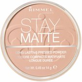 Rimmel London Stay Matte Pressed - 008 Cashmere - Powder