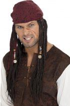 Piratenpruik Jack Sparrow