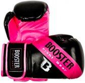 Booster BT Sparring (kick)bokshandschoenen Zwart/Roze 10 oz