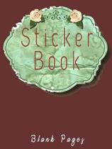 Sticker Book Blank Pages