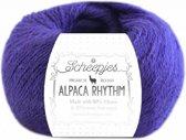 Scheepjes Alpaca Rhythm Calypso (660) PAK MET 10 BOLLEN a 25 GRAM.