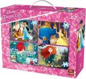 Disney 4in1 Puzz. 4 Princesses