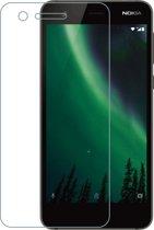 Azuri Screenprotector Tempered Glass flatt - voor Nokia 2