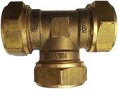 VSH knelkoppeling - T-stuk - 22 x 22 x 22 mm - 1 st