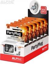 PartyPlug Oordopjes display 6 stuks