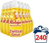 Robijn Zwitsal wasverzachter - 240 wasbeurten - 8 x 750 ml