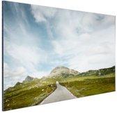Noors landschap  Aluminium 60x40 cm - Foto print op Aluminium (metaal wanddecoratie)