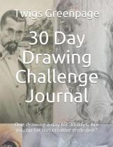 30 Day Drawing Challenge Journal
