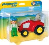 Playmobil 123 Tractor met boer - 6794
