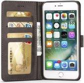 Apple iPhone 6(S) Portemonnee Hoesje Splitleer Grijs