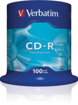 Verbatim 43411 CD-R Extra Protection - 100 Stuks / Spindel