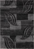 Modern Artwork Loof Vloerkleed - 120X170cm - Antraciet/Grijs