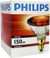 Philips Infraroodlamp PAR38 IR - 150W E27 230V - Rood 12887415