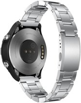Just in Case Huawei Watch 2 Classic Metalen armband - Zilver