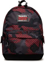 Superdry Montana Logo AOP Backpack Red Camo