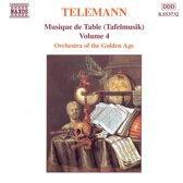 Telemann: Musique de Table (Tafelmusik) Vol 4
