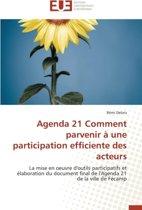 Agenda 21 Comment Parvenir a Une Participation Efficiente Des Acteurs