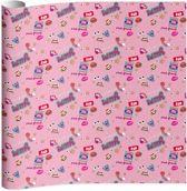 Kaftpapier Paul Frank Girls 2 x vel 100x70 cm