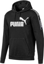 PUMA Amplified Hoody FL Trui Heren - Puma Black - Maat XL