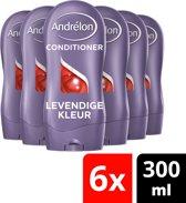 Andrélon Levendige Kleur Conditioner - 6 x 300 ml - Voordeelverpakking