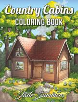 Country Cabins Coloring Book - Jade Summer