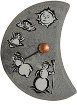 """Stenen thermometer met afbeeldingen, """"Lumiukko"""""""