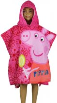 Peppa Big badcape roze