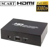 SCART to HDMI Converter, Support 720P / 1080P Output(zwart)