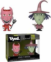 Funko / Vynl - Lock & Shock (The Nightmare Before Christmas) 2-pack