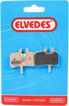 Elvedes Schijfrem Blokset 6850-s Hayes Mech Prom Sintered