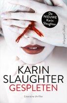Boek cover Gespleten van Karin Slaughter (Onbekend)