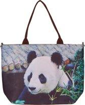 Handtas groot panda-