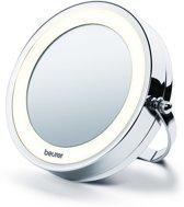 Beurer BS59 - Make-up spiegel met muurmontage - 2-in-1 - LED verlichting  Ø11cm