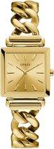 GUESS Watches -  W1029L2 -  Horloge -  Vrouwen -  RVS - Goudkleurig -  28  mm