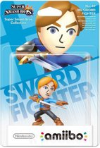 Nintendo amiibo Super Smash Figuur Mii Sword Fighter - Wii U + NEW 3DS