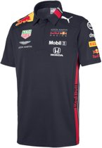 PUMA Red Bull Racing Team Polo Shirt Heren - Night Sky - Maat XL